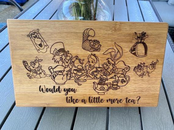 AIW engraved tea