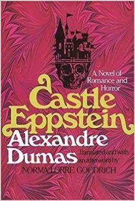 Castle Eppstein by Alexandre Dumas cover