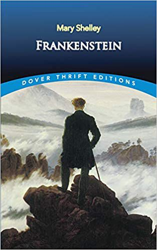 Frankenstein by Mary Shelley Dover Thrift cover