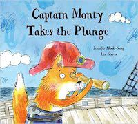Jennifer Mook-Sang Captain Monty Takes the Plunge Cover