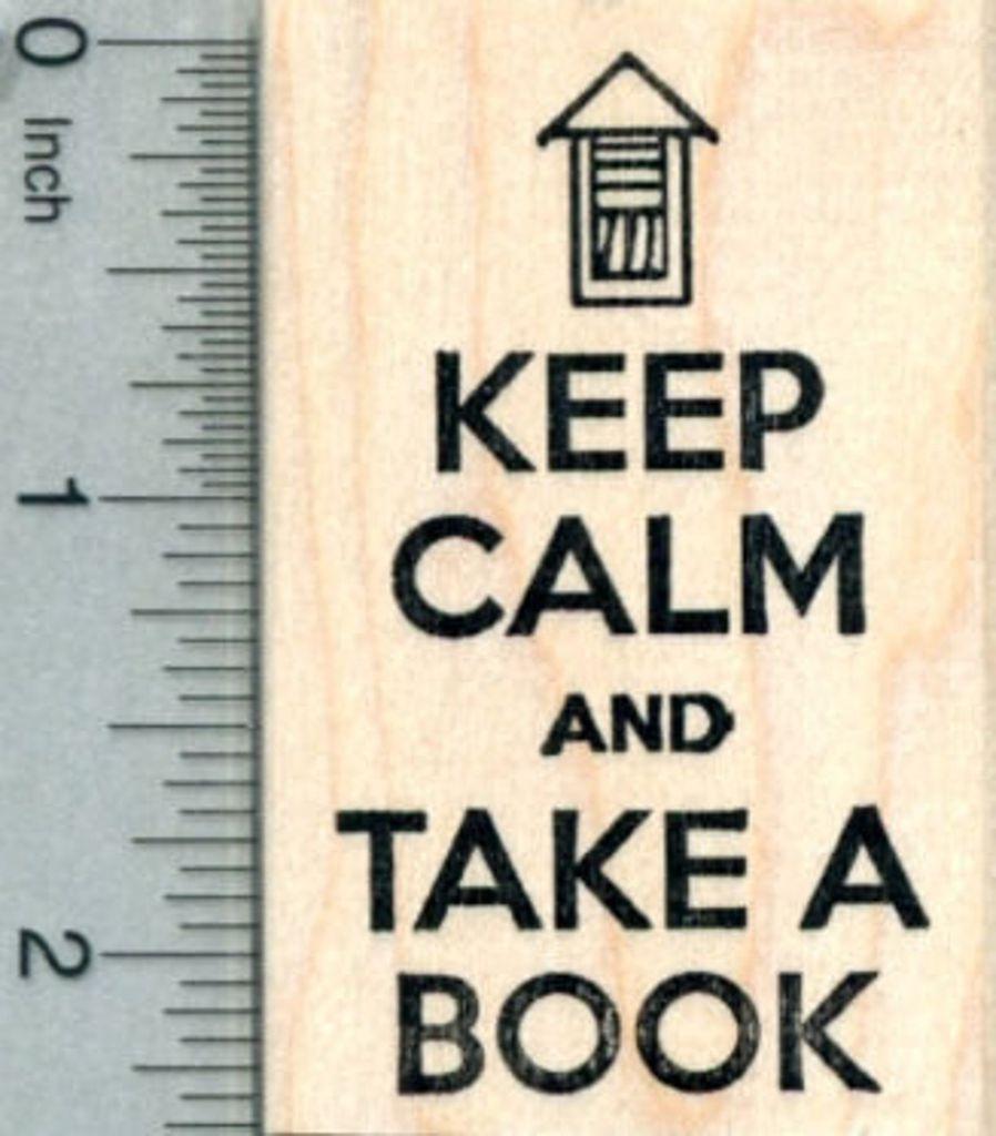 LFL Keep Calm Stamp