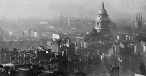 World War II London after the blitz