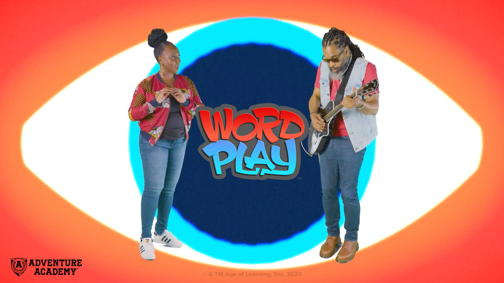 Promotional image for Kwame Alexander's WordPlay. Used with permission from Age of Learning