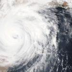 aerial image of hurricane https://unsplash.com/photos/i9w4Uy1pU-s