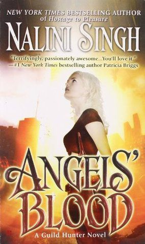 angels' blood by nalini singh book cover