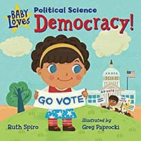 Capa de Baby Loves Democracy de Spiro
