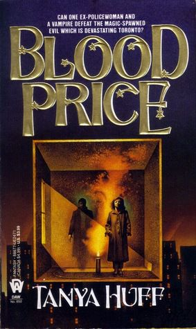 blood price by tanya huff cover