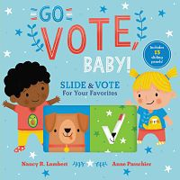 Cover of Go Vote! Baby by Lambert