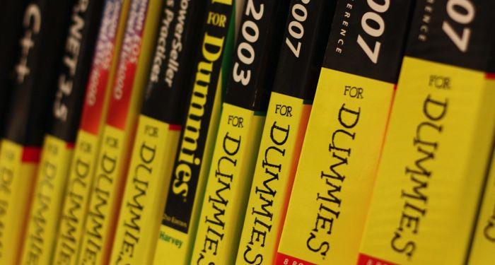 https://en.wikipedia.org/wiki/For_Dummies#/media/File:Dummies_(2973280850).jpg