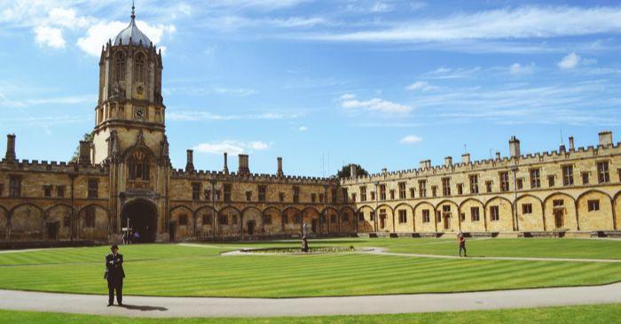 oxford college campus