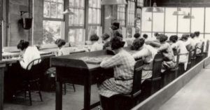 radium girls in factory