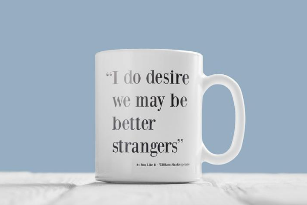 shakespeare as you like it mug