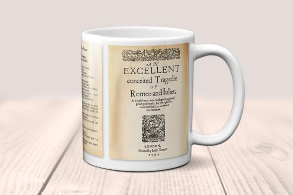 shakespeare romeo and juliet mug