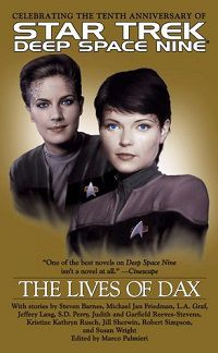 best star trek books anthology dax