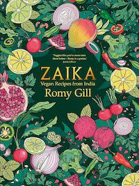 Zaika Cookbook book cover