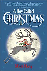 Book Cover for A BOY CALLED CHRISTMAS