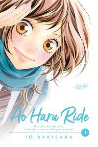 Ao Haru Ride volume 1 cover by Io Sakisaka