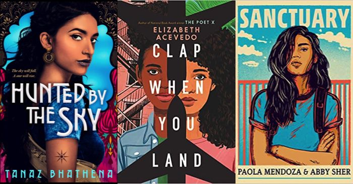 8 2020 YA Releases with BIPOC Facing Down the World From the Cover