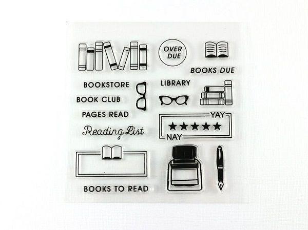 Book Lover Reading Stamp Set by MisoPaper.jpg.optimal
