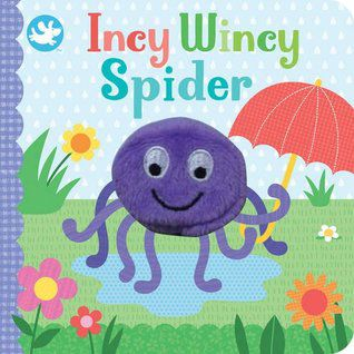 Incy Wincy Spider Book Cover