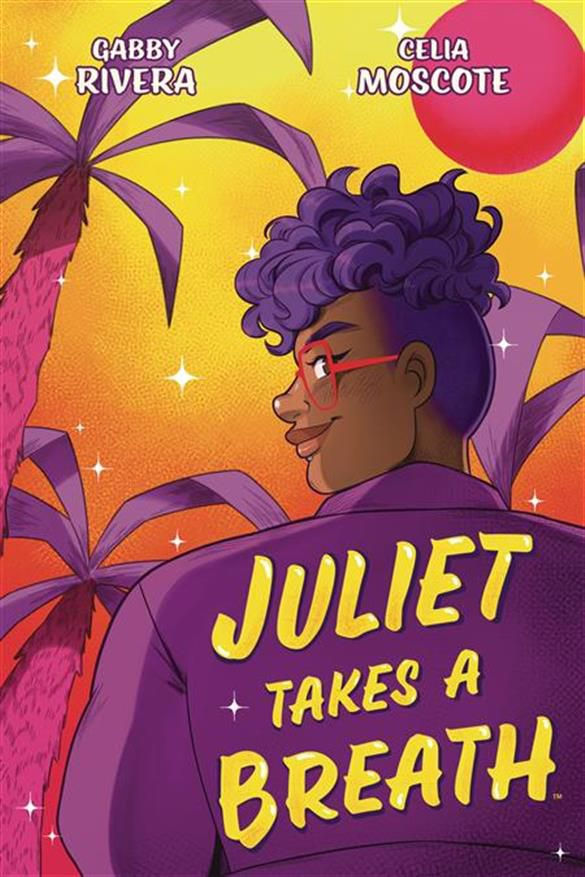Juliet Takes a Breath graphic novel cover