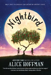 Friendships. Nightbird by Alice Hoffman. Link: https://i.gr-assets.com/images/S/compressed.photo.goodreads.com/books/1516638225l/35403058._SY475_.jpg