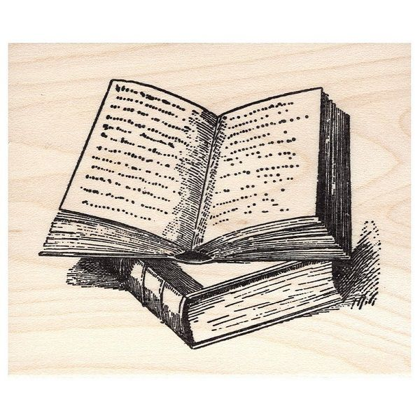 Propped Open Book by