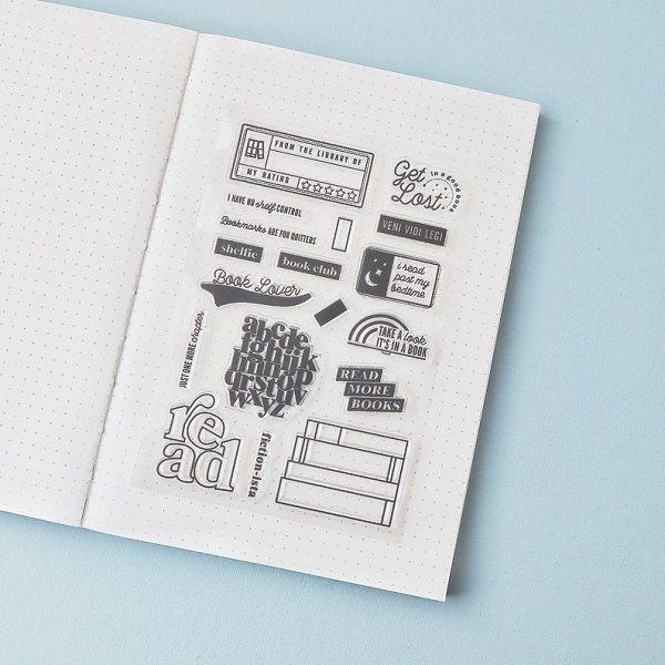 Reading Silicone Stamp by GratitudeNotebook.jpg.optimal
