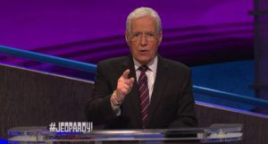 Alex Trebek on Jeopardy