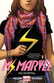 Ms Marvel Vol. 1 cover
