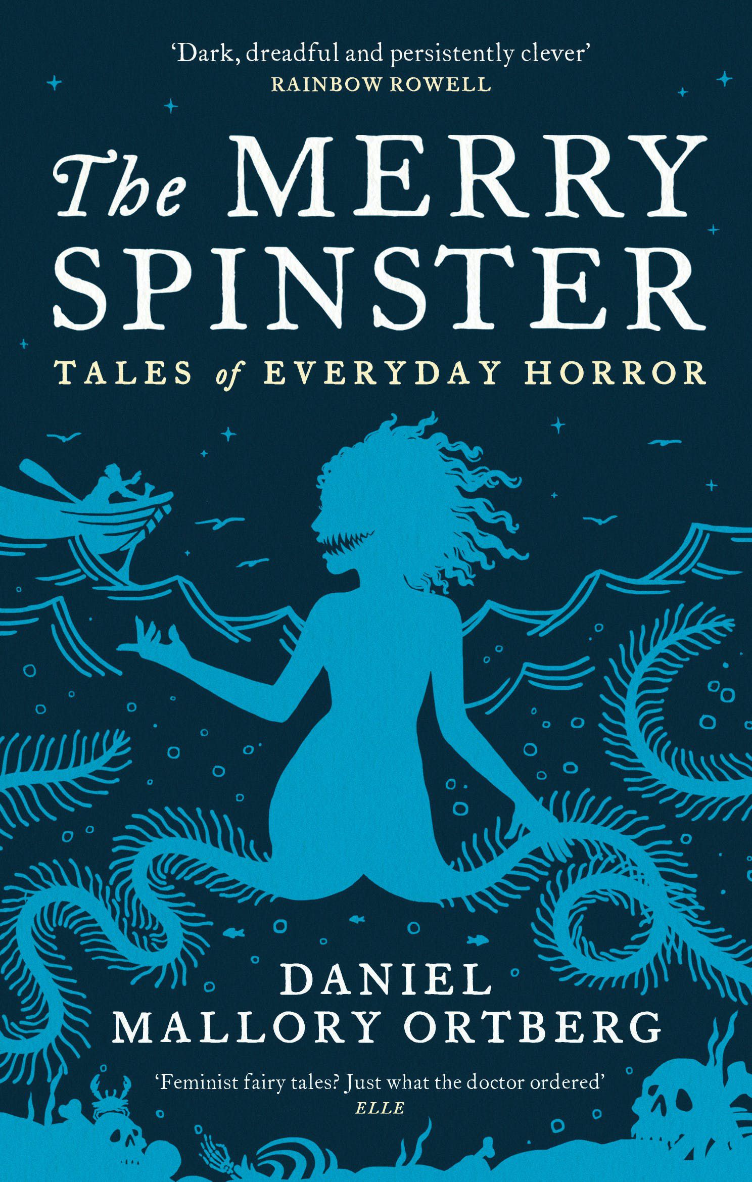 The Merry Spinster book cover