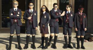 umbrella academy film still