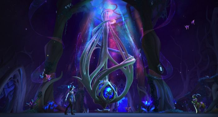 world of warcraft night fae covenant hall