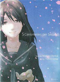5 Centimeters per Second cover - Makoto Shinkai & Yukiko Seike