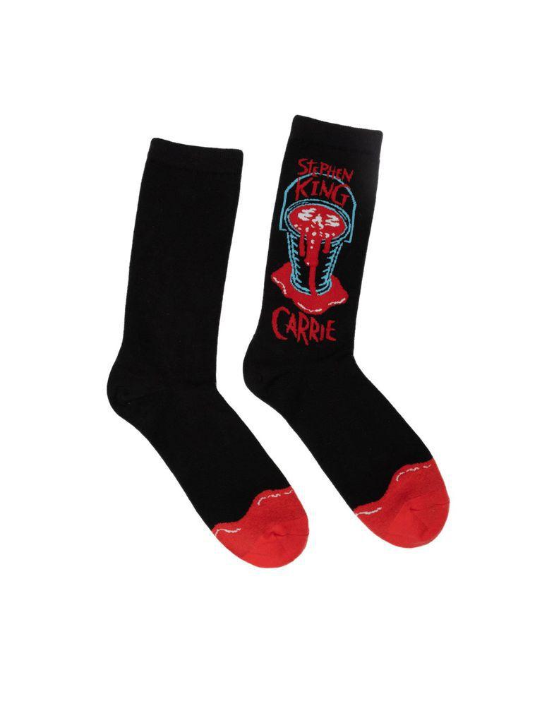 Carrie Stephen King Horror Socks
