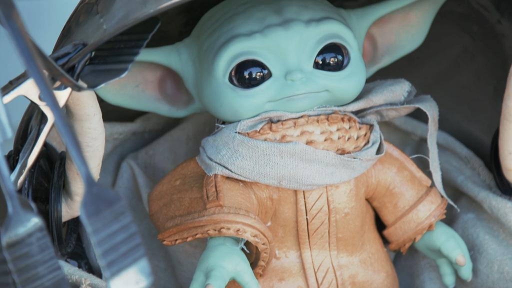 Close Up Baby Yoda Baby Doughda One House Bakery Benicia Mandalorian 1