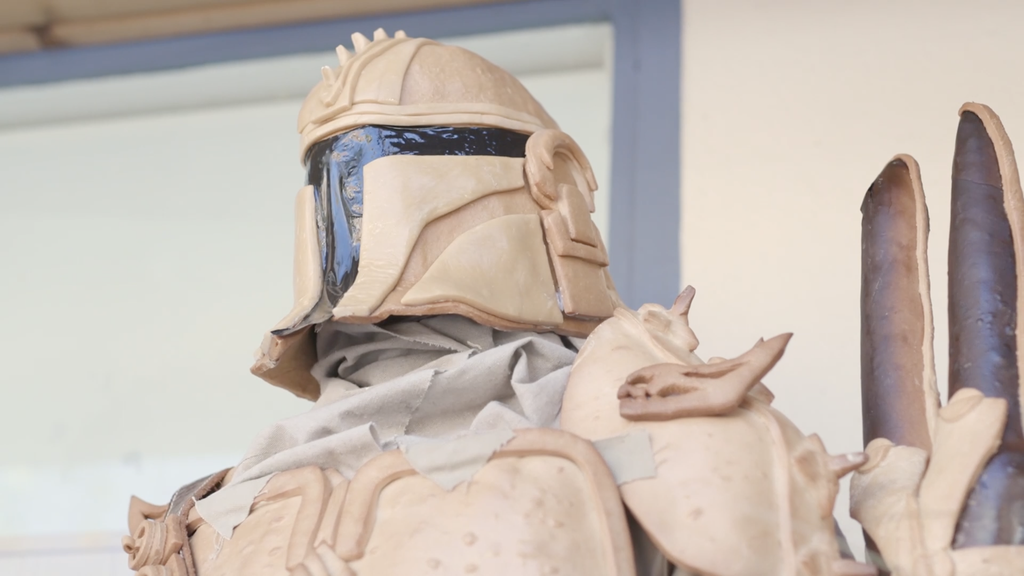 Close Up The Mandalorian Visit Benicia One House Bakery a Great Escape by the Bay
