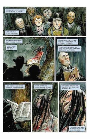 A page from Harrow County