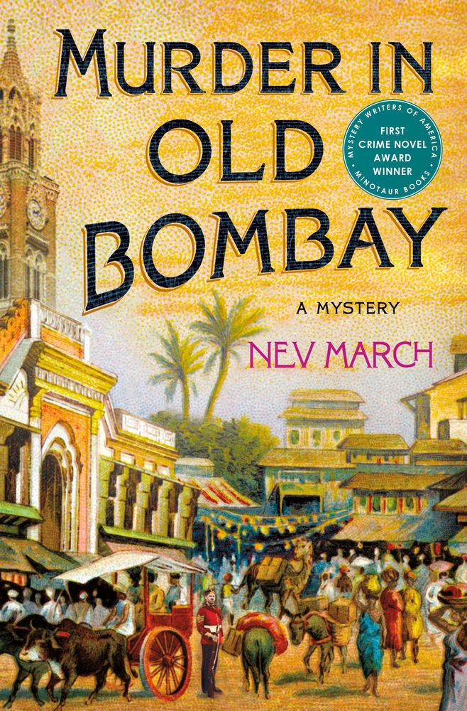 Murder in Old Bombay book cover