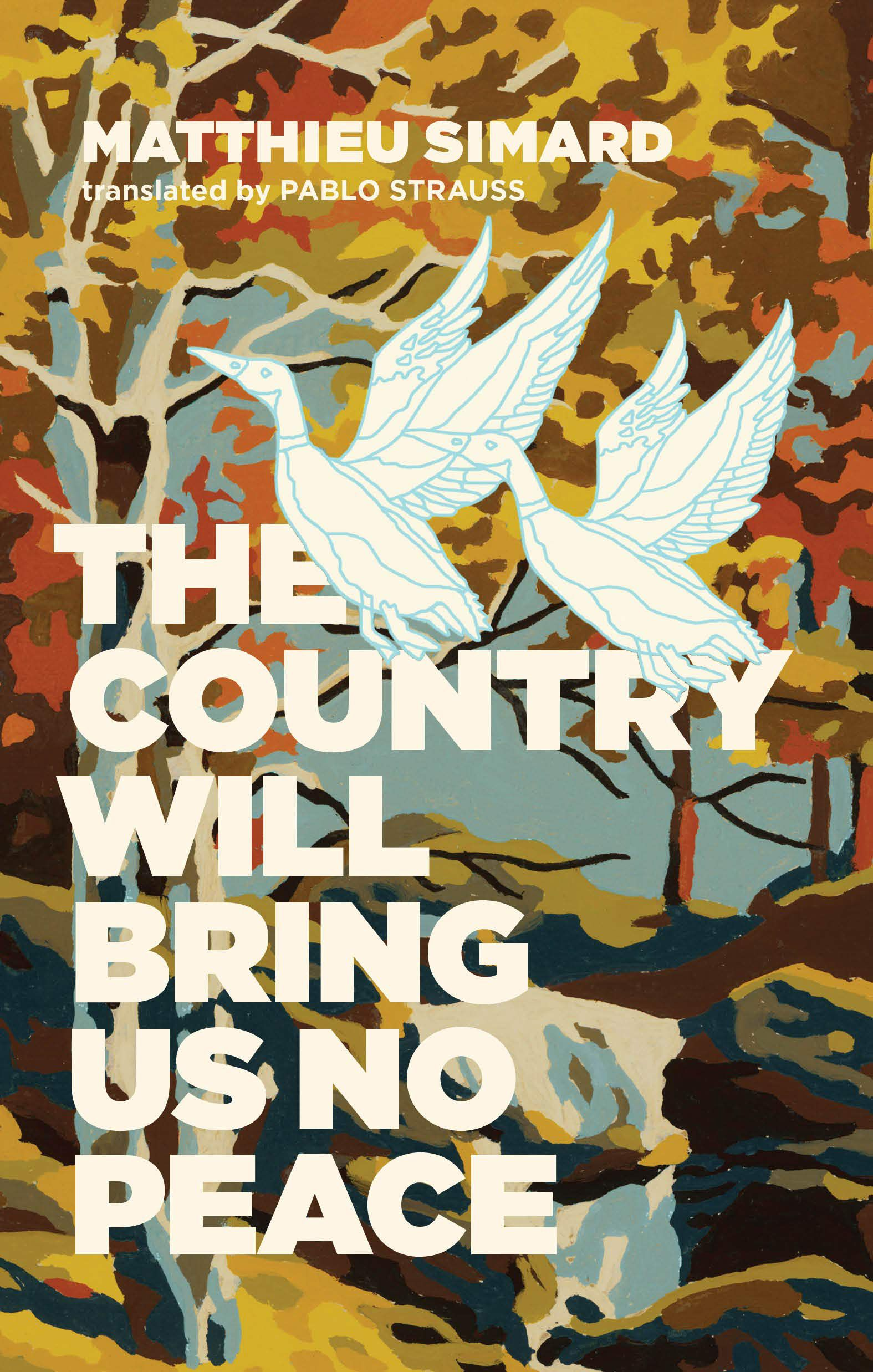The Country Will Bring Us No Peace by Matthieu Simard