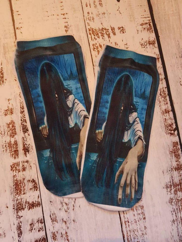 The Ring Koji Suzuki Horror Socks