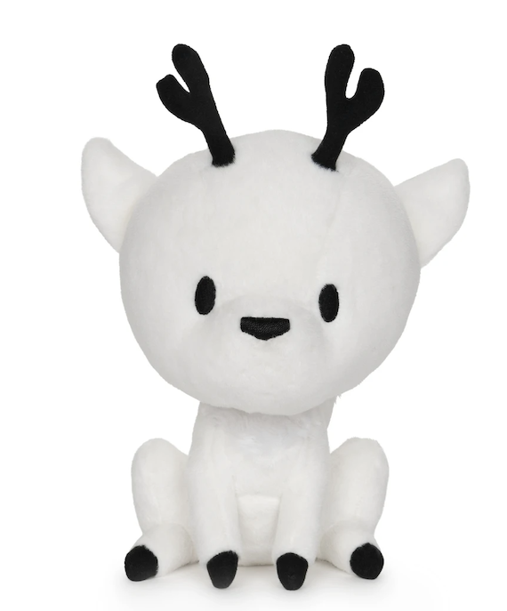 A white deer fox.