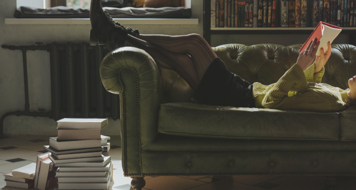 source: https://www.pexels.com/photo/man-in-black-jacket-lying-on-white-leather-sofa-chair-4866041/