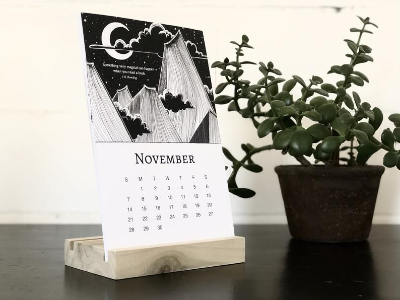 bookish illustrations calendar.jpg.optimal