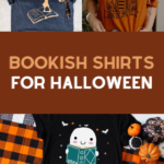 bookish shirts for halloween