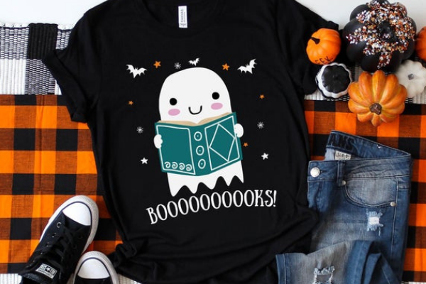 booooooooks ghost shirt