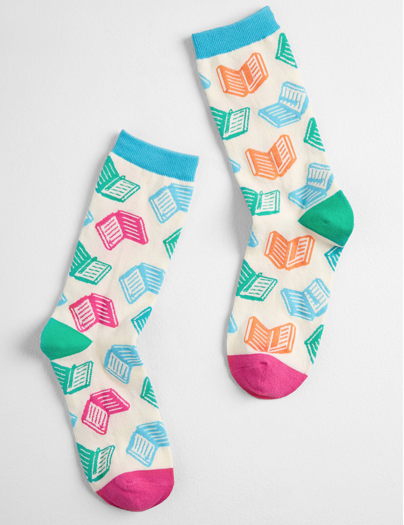 bright reads book socks