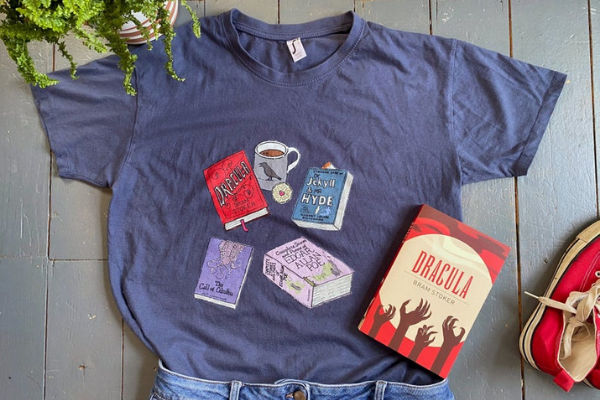 classic horror books shirt