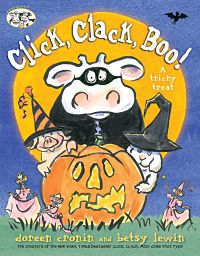 Cover of Click, Clack, Boo by Cronin