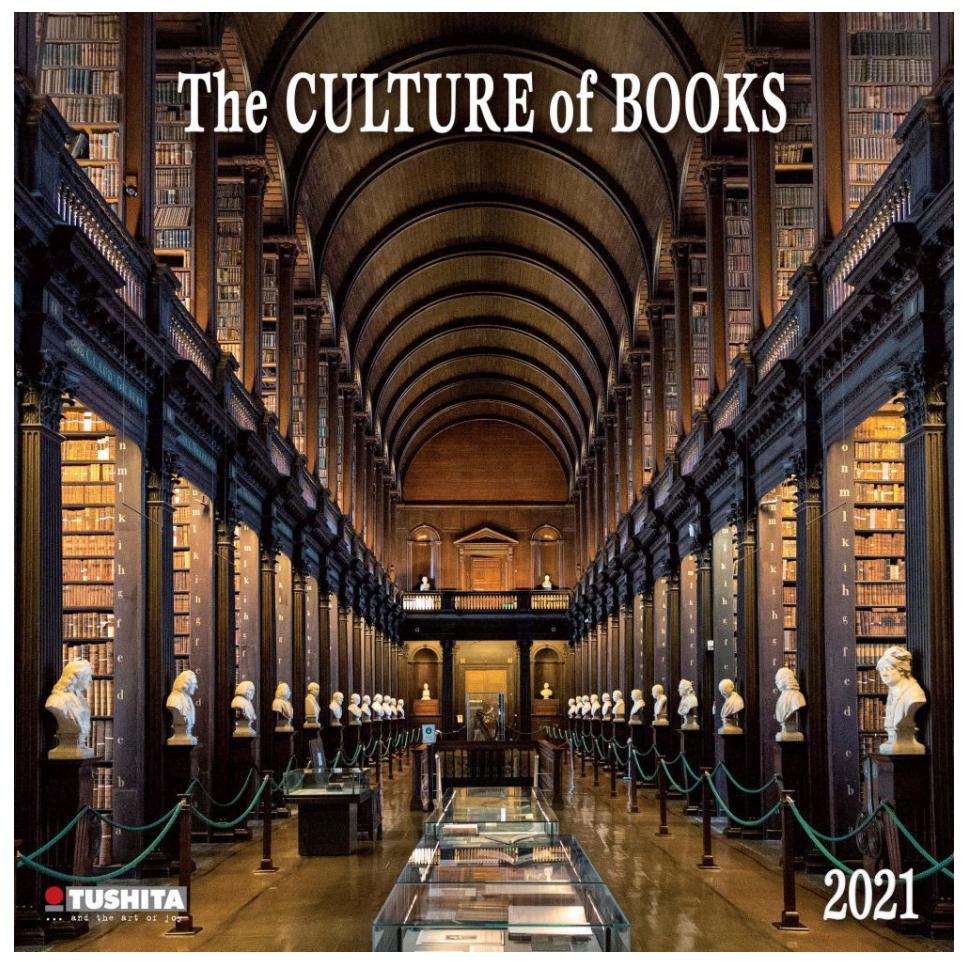 culture of books calendar